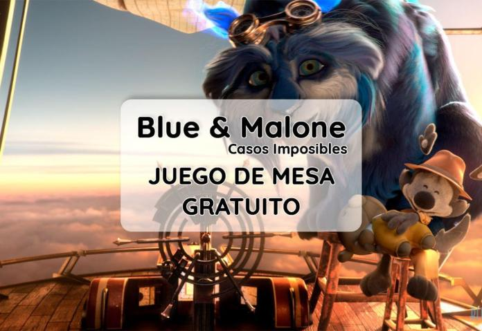 Portada Blue and Malone Casos imposibles