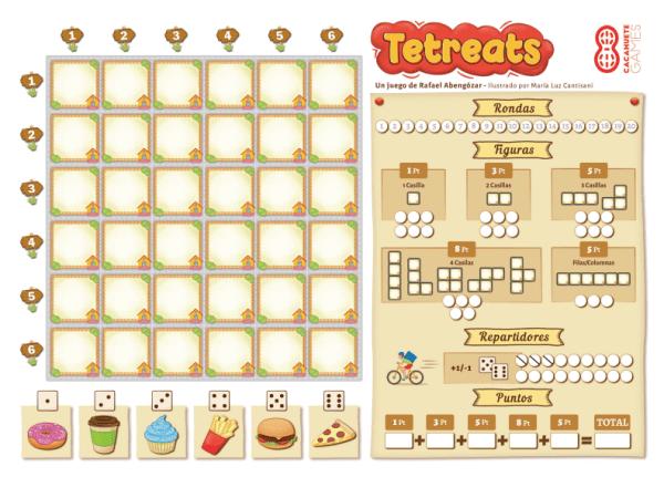 plantilla Tetreats gratis print and play