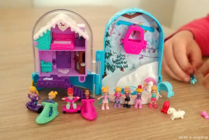 cofre refugio de Nieve de Polly Pocket