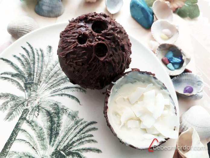 recetas coco chocolate