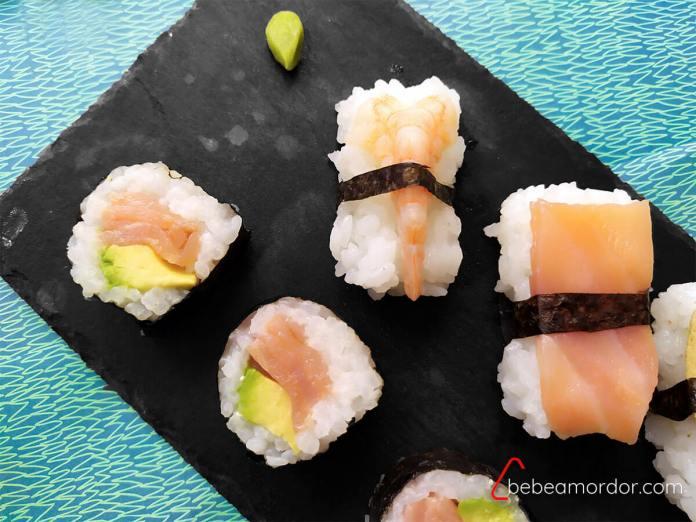 recetas caseras de sushi