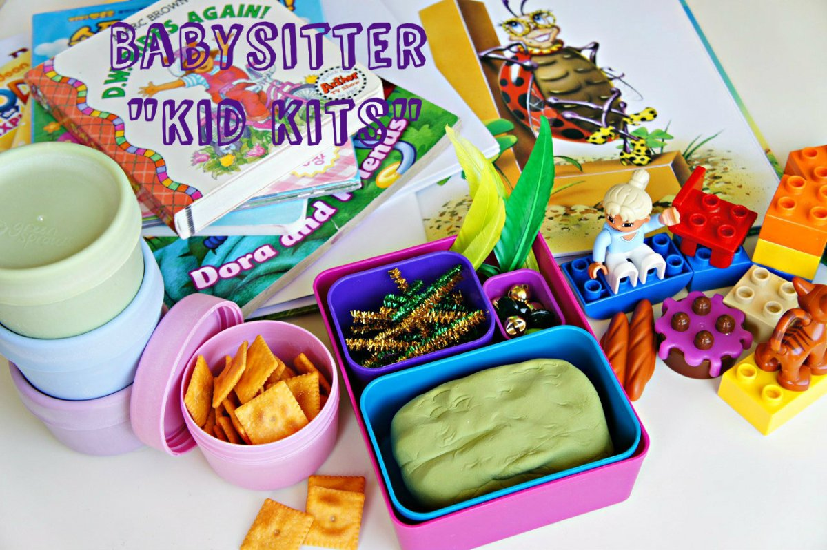 Babysitter 'Kid Kits': Helping Toddler with Babysitter