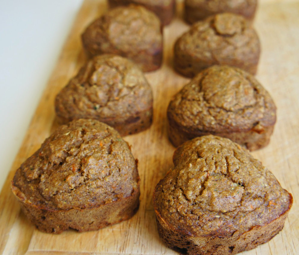 No Sugar. No Butter. Healthy Muffins for Toddlers.