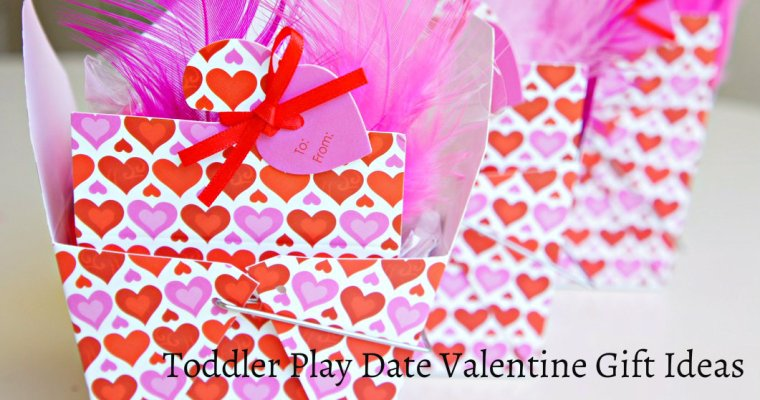 Toddler Play Date Valentine Gifts