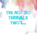 The Not So Terrible Two's…