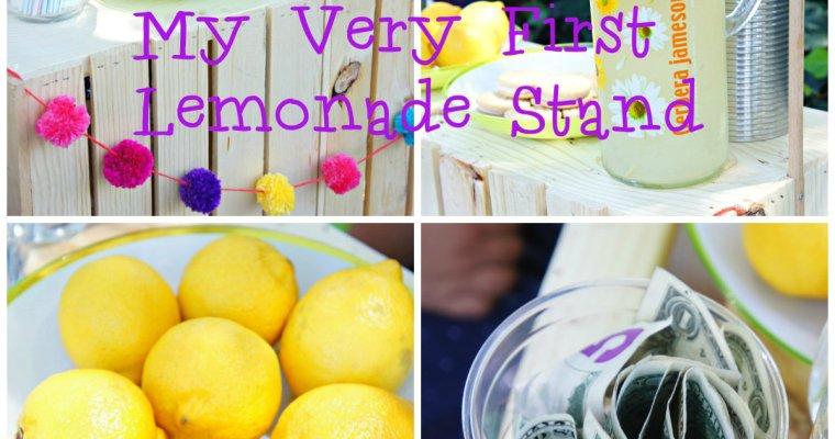 My Very First Lemonade Stand