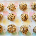 The Perfect Little Healthy Crunchy Chewy Granola Bites