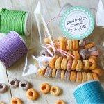 Fun Rainbow O's Edible Necklaces for Kids