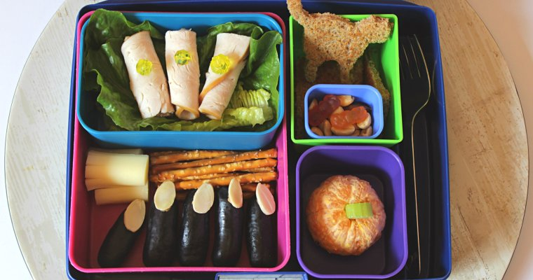 Fun Halloween Bento Lunchbox for Kids