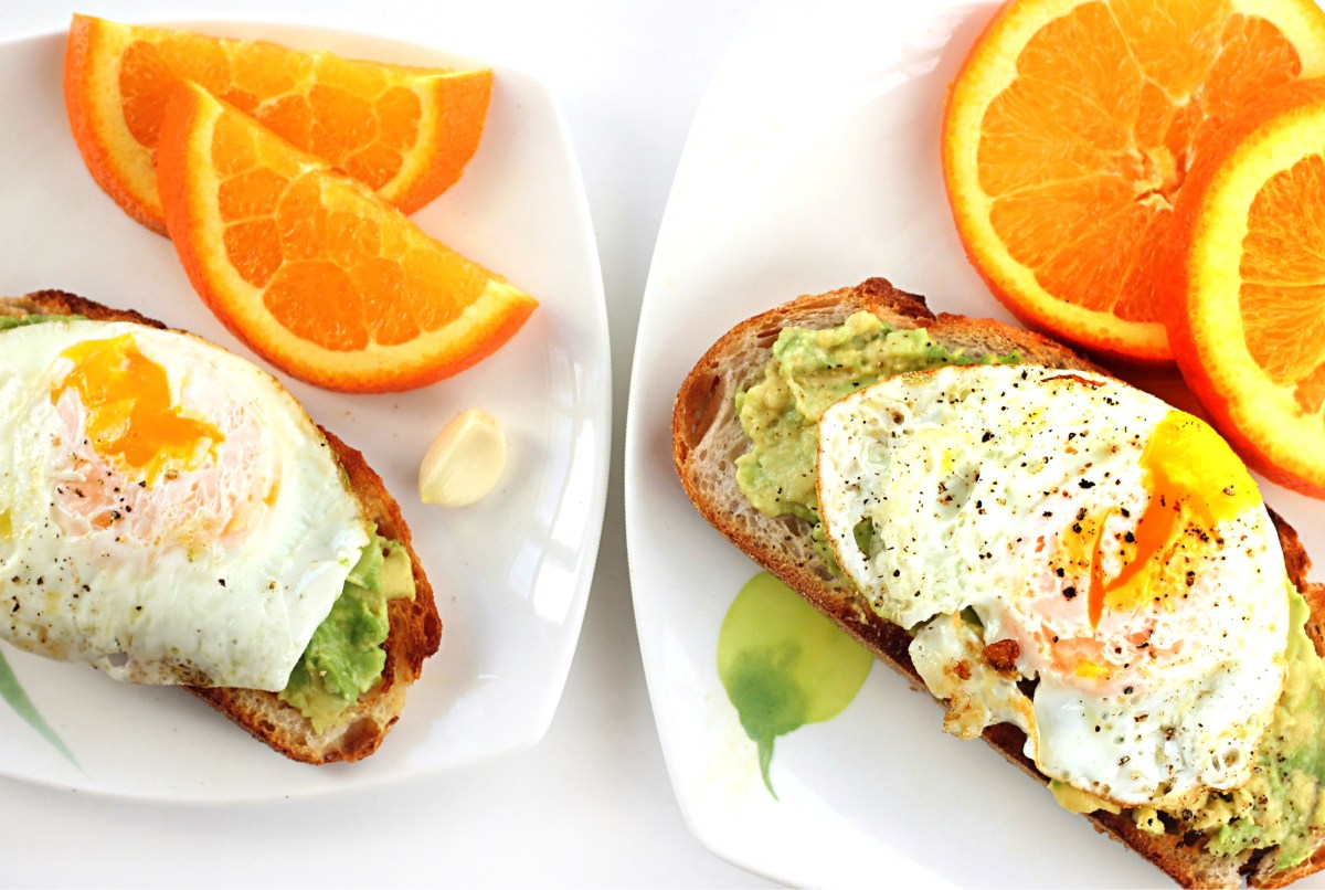 Mommy and Me Avocado Toast with Garlic