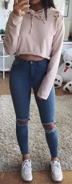Casual And Stylish Fall School Outfits Ideas For Teens 13