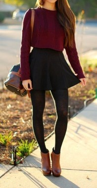 Casual And Stylish Fall School Outfits Ideas For Teens 17