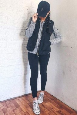 Casual And Stylish Fall School Outfits Ideas For Teens 26