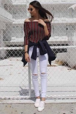 Casual And Stylish Fall School Outfits Ideas For Teens 27