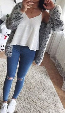 Casual And Stylish Fall School Outfits Ideas For Teens 31