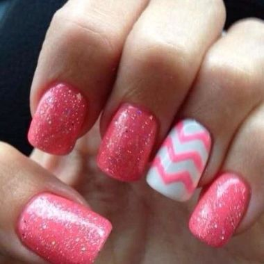 Cute Spring Nail Design Ideas With Bright Colour 03 1