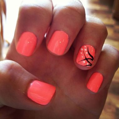 Cute Spring Nail Design Ideas With Bright Colour 25 2