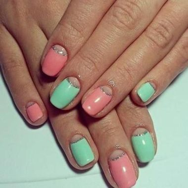 Cute Spring Nail Design Ideas With Bright Colour 28 1