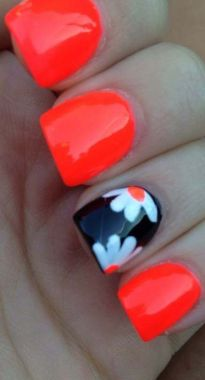 Cute Spring Nail Design Ideas With Bright Colour 35 2