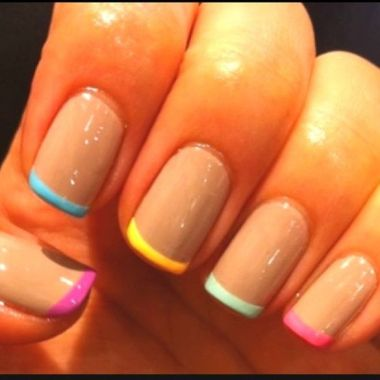 Cute Spring Nail Design Ideas With Bright Colour 36 1