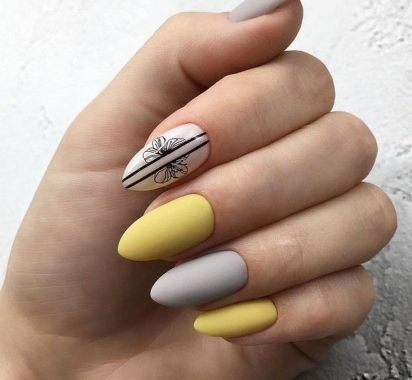 Best Acrylic Spring Nail Designs Trending 2020 15