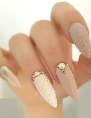 Best Acrylic Spring Nail Designs Trending In 2020 07