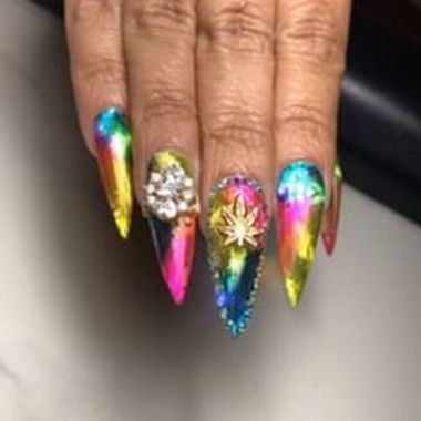 Best Acrylic Spring Nail Designs Trending In 2020 26