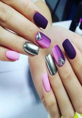 Best Acrylic Spring Nail Designs Trending In 2020 34