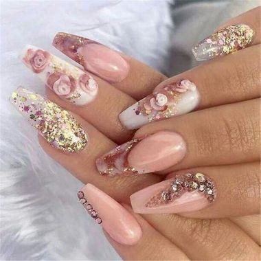 Best Acrylic Spring Nail Designs Trending In 2020 39