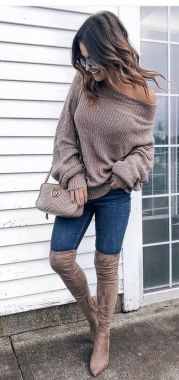 Casual Chic Women Outfits For Winter To Look Good 11