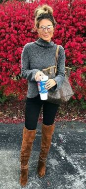 Casual Chic Women Outfits For Winter To Look Good 43