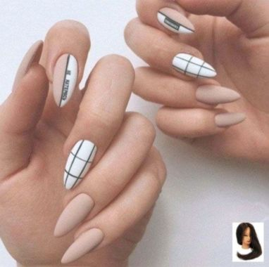 Cute Summer Nail Almond Design And Colours 14