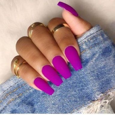 Cute Summer Nail Almond Design And Colours 16 1