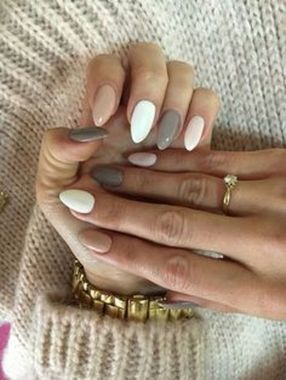 Cute Summer Nail Almond Design And Colours 22 1