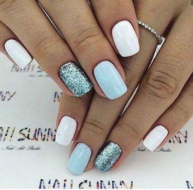 Cute Summer Nail Almond Design And Colours 27 1
