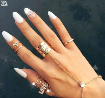 Cute Summer Nail Almond Design And Colours 42