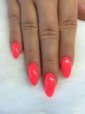 Cute Summer Nail Almond Design And Colours 44