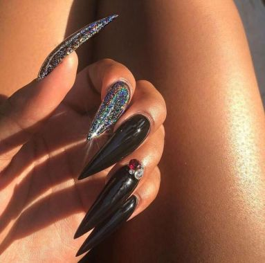 Pretty Acrylic Nails Ideas To Perfect Your Styles 12 2