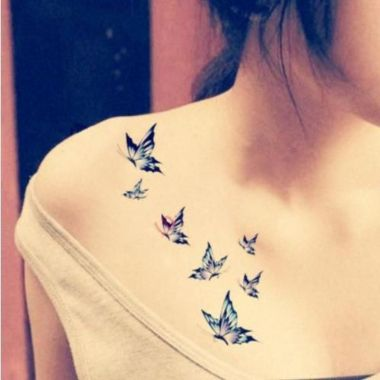 Amazing Butterfly Tattoo Designs And Placement Ideas For Women 18