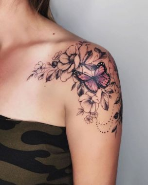 Amazing Butterfly Tattoo Designs And Placement Ideas For Women 19