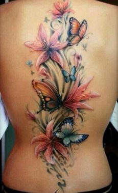 Amazing Butterfly Tattoo Designs And Placement Ideas For Women 23