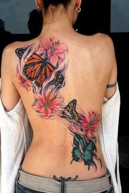Amazing Butterfly Tattoo Designs And Placement Ideas For Women 28