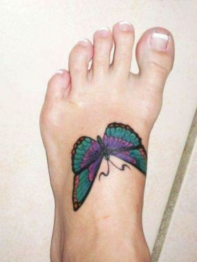 Amazing Butterfly Tattoo Designs And Placement Ideas For Women 39
