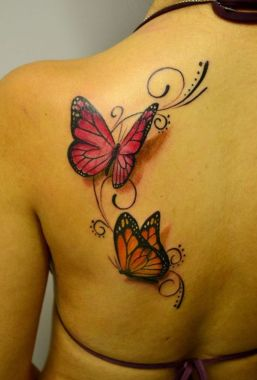 Amazing Butterfly Tattoo Designs And Placement Ideas For Women 46