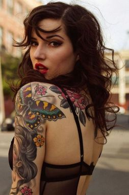 Amazing Butterfly Tattoo Designs And Placement Ideas For Women 48