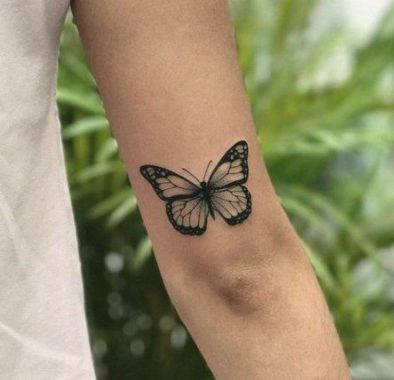 Awesome Butterfly Tattoo Design Ideas For Women 01