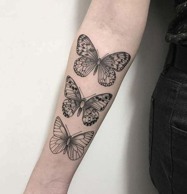 Awesome Butterfly Tattoo Design Ideas For Women 06