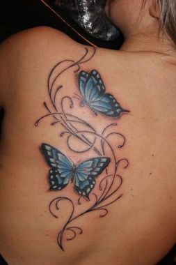 Awesome Butterfly Tattoo Design Ideas For Women 11