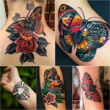 Awesome Butterfly Tattoo Design Ideas For Women 30