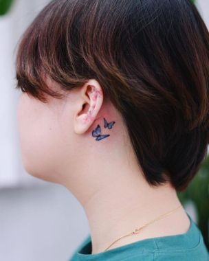 Awesome Butterfly Tattoo Design Ideas For Women 37